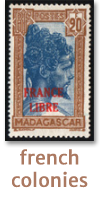view french colonies stamps